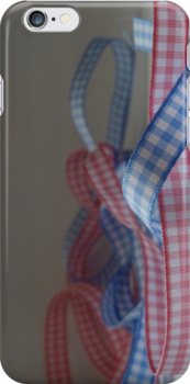 Gingham Ribbon by marqueelights