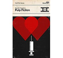 Pulp Fiction Modernist Book Cover Series  Photographic Print