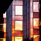 T Tower Sunset Reflection by Keith Vander Wees