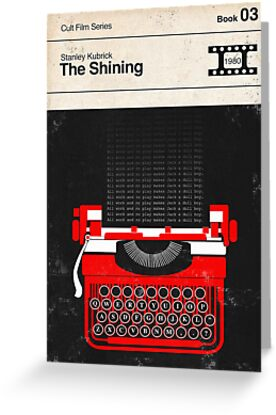 The Shining Modernist Book Cover Series  by Creative Spectator