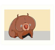 Cute animal Art Print