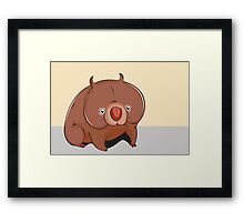 Cute animal Framed Print