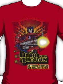 Robo With A Shotgun T-Shirt