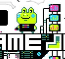 Kikkerstein Game Jolt Logo Sticker