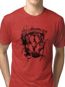Axtelera-Ray Superhero T-Shirts & Hoodies (Black) Tri-blend T-Shirt