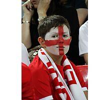 England fan Photographic Print