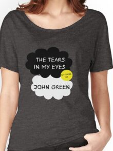 Tfios John Green Cover parody shirt. Women's Relaxed Fit T-Shirt
