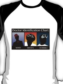Doctor Identification Chart T-Shirt