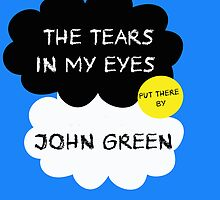 Tfios John Green Cover parody shirt. by Ellen Kapelle