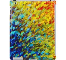 MAKING WAVES - Bold Rainbow Splash Ocean Waves Beach Nature Acrylic Painting iPad Case/Skin