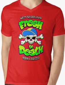 Fresh To Death Mens V-Neck T-Shirt
