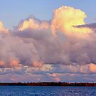  DISTINCTIVE IMAGE IN A CLOUD..TELL ME DO U C WHAT I C ?  by  Bonita Lalonde