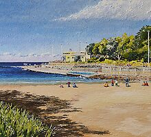 Clovelly Beach by donald-keys