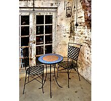 Come sit with me... Photographic Print