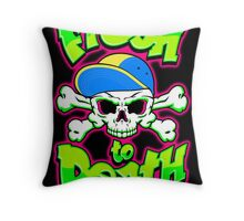Fresh To Death Throw Pillow