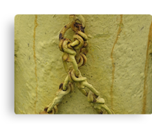 Unchained Yellowdy Canvas Print