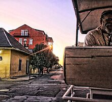 Carriage Ride at Sunset in the French Quarter by Mikell Herrick