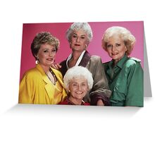 Classic Golden Girls Greeting Card