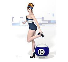 Poolgames 2012 - No. 10 Photographic Print