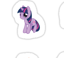 MLP:FiM Mane 6 Sticker