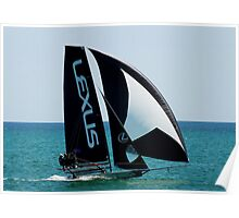 SKIFFS AUSTRALIA -LEXUS AT ASC Poster