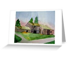 Old Barn on Pavlica Rd. #2 Greeting Card