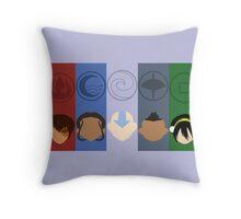 Avatar the last airbender Flat Art Throw Pillow