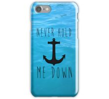 Be the One to Guide Me iPhone Case/Skin