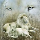 Spirit Of The White Lions by Carol  Cavalaris