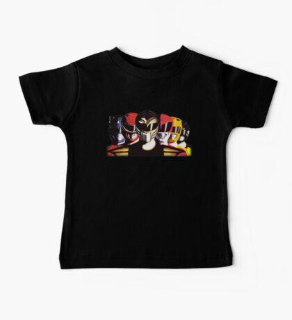 Mighty Morphin Power Rangers Baby Tee