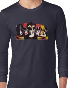 Mighty Morphin Power Rangers Long Sleeve T-Shirt