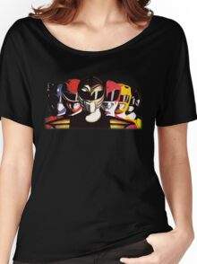 Mighty Morphin Power Rangers Women's Relaxed Fit T-Shirt