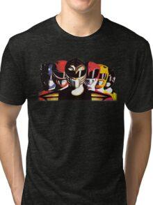 Mighty Morphin Power Rangers Tri-blend T-Shirt