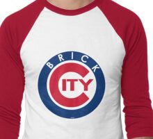 'Brick C' Men's Baseball ¾ T-Shirt