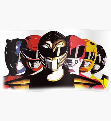 Mighty Morphin Power Rangers Poster