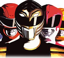 Mighty Morphin Power Rangers by Zanie
