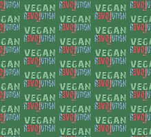 VEGAN REVOLUTION - vegan, vegetarian, animal rights, cruelty to animals by fuxart