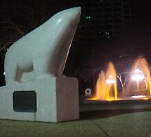San Jose Polar Bear by tomduggan