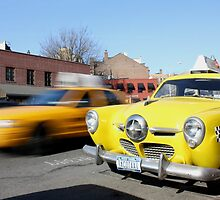 West Village Taxis by tomduggan