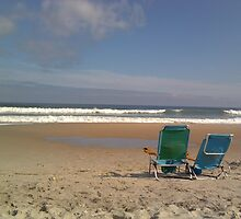 Beach Chairs by Erica M. Schaeffer