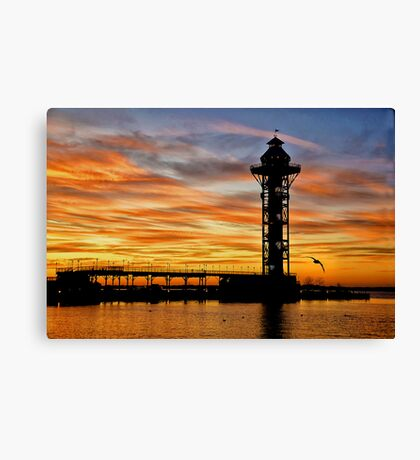 Bicentenial Tower Canvas Print
