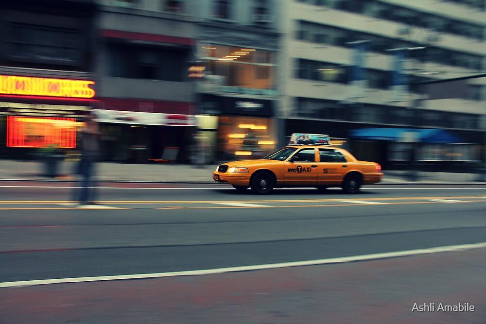 Taxi by Ashli Amabile
