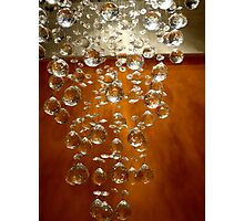 Chandelier Photographic Print