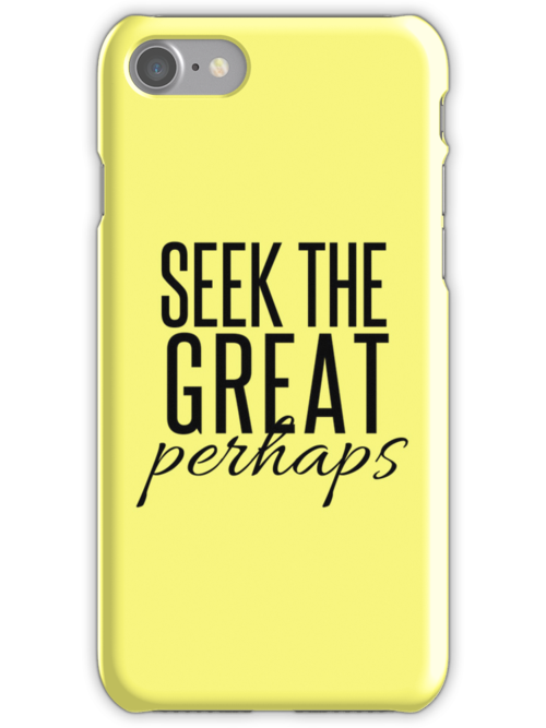 Looking For Alaska iPhone Case by ShelbMali