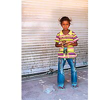 Salesgirl Photographic Print