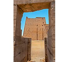 Temple of Horus. Photographic Print