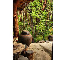 Front Porch, Korean Style Photographic Print