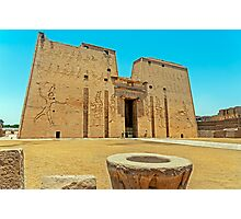 Temple of Horus2. Photographic Print