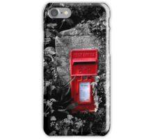 Cornish postbox iPhone Case/Skin