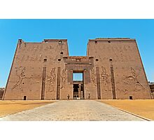 Temple of Horus3. Photographic Print